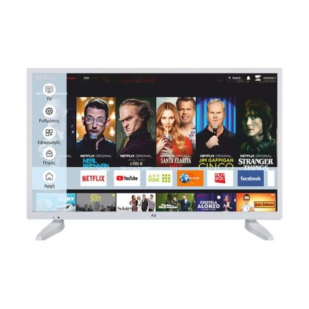 ΤΗΛΕΟΡΑΣΗ 32'' LED FLS32287WH smart tv F&U
