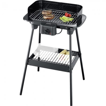 BARBEQUE GRILL 8523SEV 2300W ΜΕ ΒΑΣΗ SEVERIN