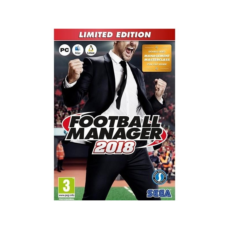 PC FOOTBALL MANAGER LIMITED EDITION 2018 GR