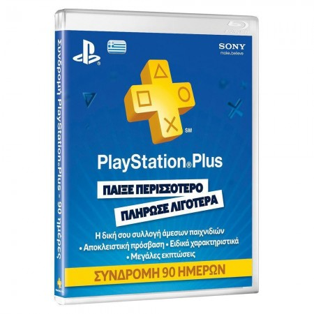 PLAYSTATION PLUS CARD HANG 90 SONY