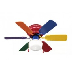 CHILDREN'S CEILING FAN WITH UFC-653 LIGHT UNITED