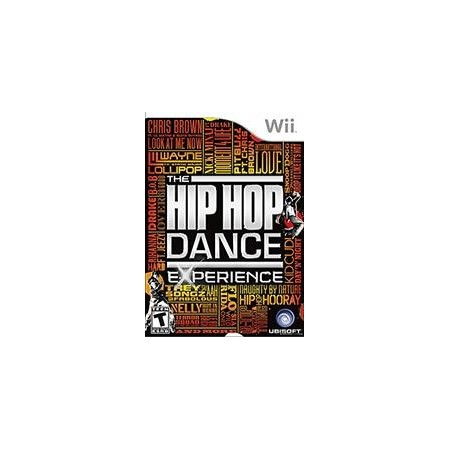 WII HIP HOP THE EXPERIENCE NINTENDO