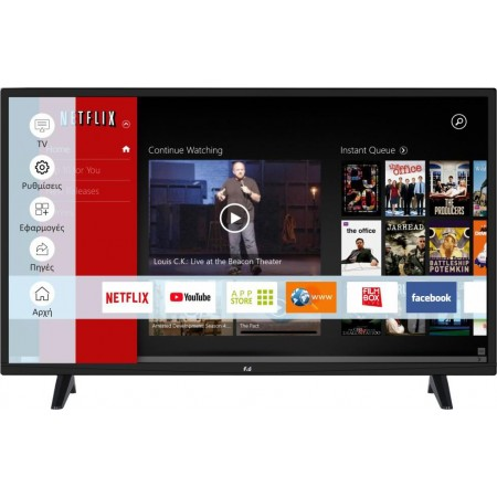 ΤΗΛΕΟΡΑΣΗ 32'' LED FLS32219 smart tv Full HD F&U